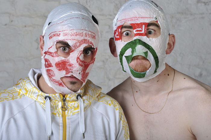 The Rubberbandits. Photo:- Steve Ullathorn