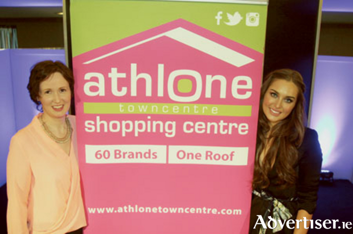 Launching the forthcoming Athlone Towncentre Style Sensation Fashion Showcase are Shirley Delahunt and Roz Purcell