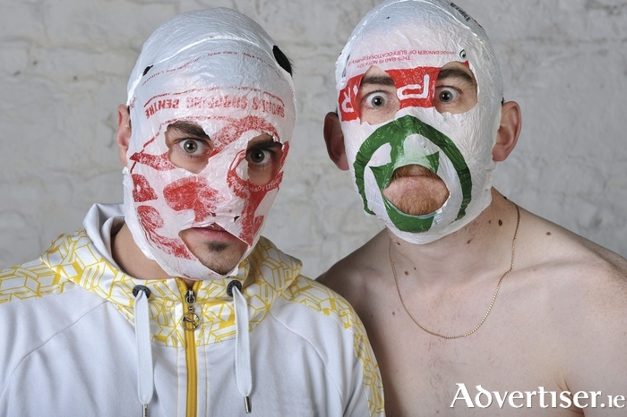The Rubberbandits. Photo:- Steve Ullathorne.