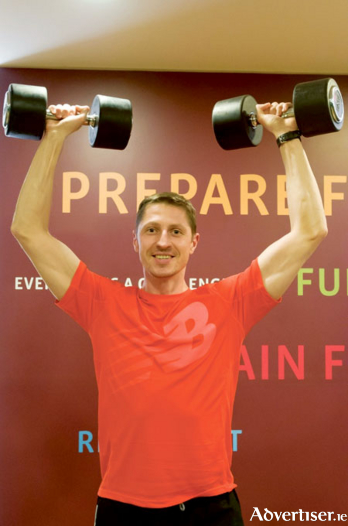 Sheraton Fitness personal trainer Michal