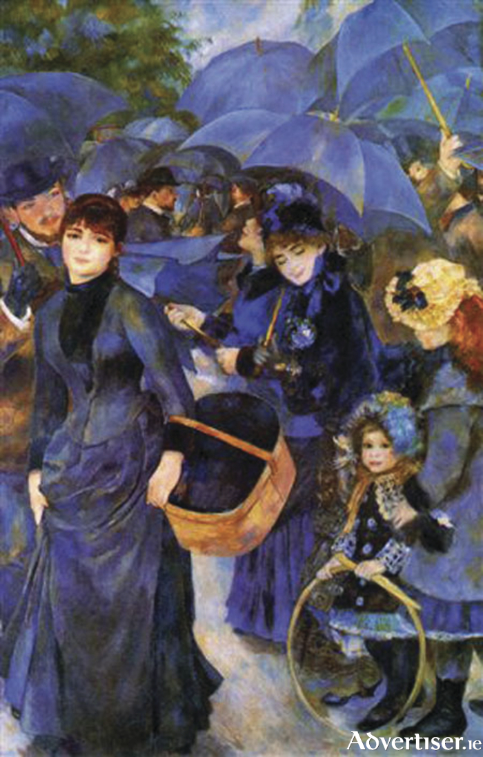 Beautiful rain: Renoir's famous Les Parapluies (The Umbrellas 1883) is one of the controversial Lane Pictures, caught up in a legal wrangle and kept in the National Gallery of London.