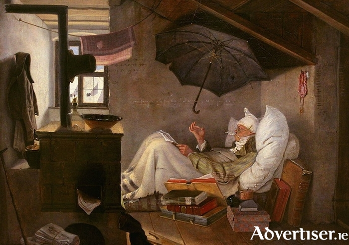 The Poor Poet (1839) by Carl Spitzweg.