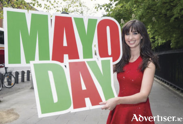 Mayo Day celebrations: Aoibheann Ní Shúilleabháin from Carnacon is hosting the Mayo Day Live broadcast from the Royal Theatre Castlebar tomorrow evening from 8pm.