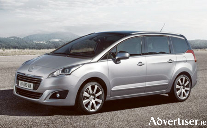 The Peugeot 5008, a compact seven-seater MPV, is now available with €4,500 scrappage allowance.