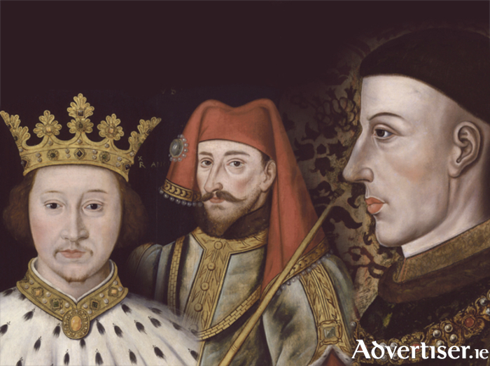 Richard II, Henry IV, and Henry V.