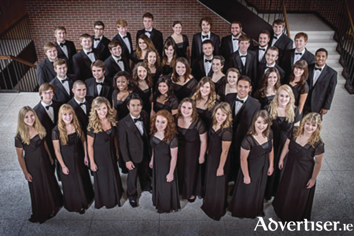 The Nebraska Wesleyan University Choir is one of the international choirs coming to Mayo for the festival.The Nebraska Wesleyan University Choir is one of the international choirs coming to Mayo for the festival.