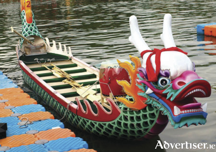 Colourful dragon boats are coming to Lough Lannagh.