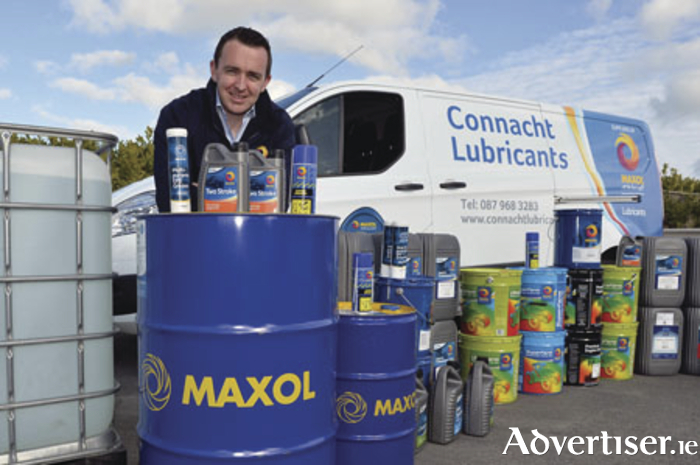 Owner of Connacht Lubricants Brian Keane.