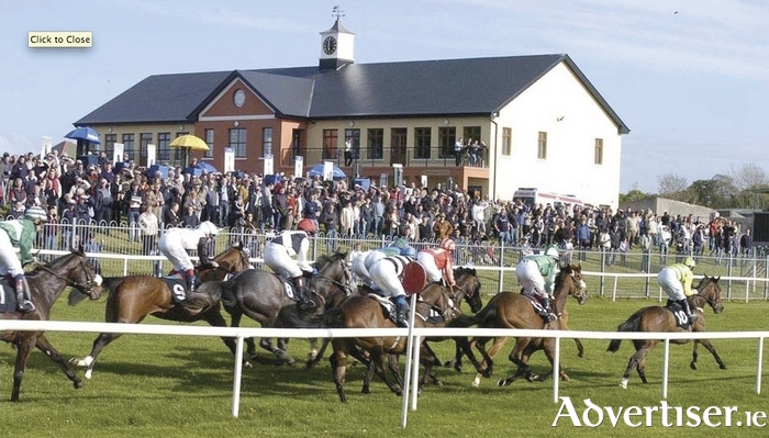 AND THEY'RE OFF!: Ballinrobe Racecourse getting a major investment and upgrade this year.
