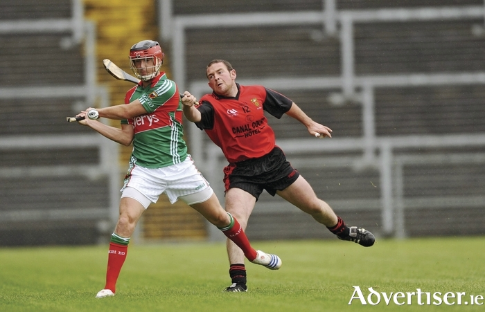 Back in action: Keith Higgins was back with the Mayo senior hurlers on Saturday. Photo: Sportsfile