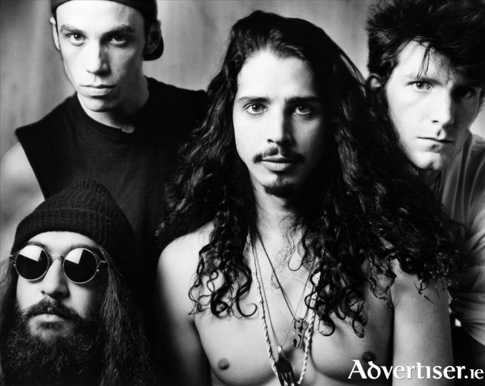 Soundgarden with their more often than not stripped to the waist frontman Chris Cornell.