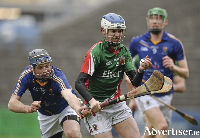 Hurling through: David Kenny will be key to Mayo's chances. Photo: Sportsfile