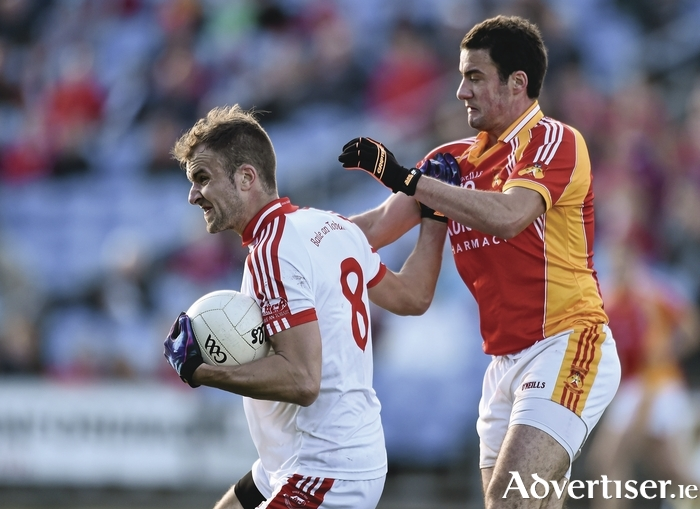 Ballintubber saw of Castlebar Mitchels last year in the senior final, who'll be there this year? Photo: Sportsfile
