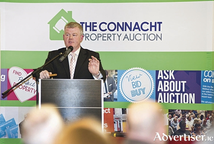 Patrick Folan of The Connacht Property Auction.
