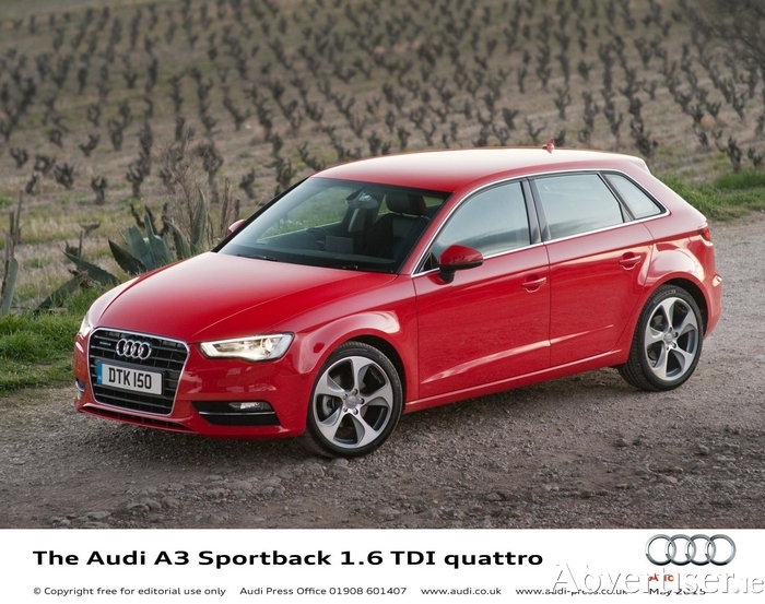 The new Audi A3 1.6 TDI ultra models combining 83mpg capability with emissions of just 89g/km join the A3 range this month, alongside the new 1.6 TDI quattro and 2.0 TDI quattro 150PS variants.