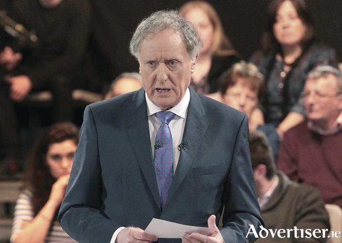 Journalist and broadcaster Vincent Browne.