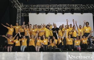 Galway International Arts Festival volunteers.