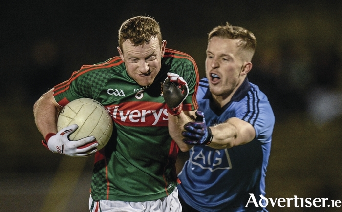 Vital cog: Colm Boyle has become one of the most vital cogs in the Mayo defence. Photo: Sportsfile