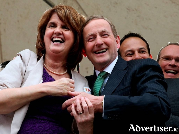 Will Joan Burton and Enda Kenny be smiling (and together) after Election 2016? Insider thinks so.