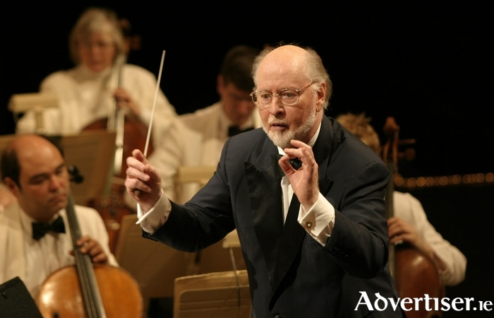 Composer John Williams, whose music will be played at the Galway Film Fealdh concert.