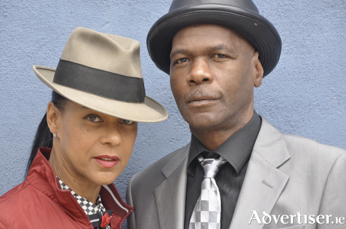The Selecters' Pauline Black and Arthur 'Gaps' Hendrickson.