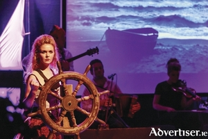 World champion Irish dancer Róisín Timoney as pirate queen Grace O'Malley rules the high seas in the sweeping traditional music and dance show The Legend of Gráinne Mhaol. The show continues all summer in the new Westport Town Hall theatre.
