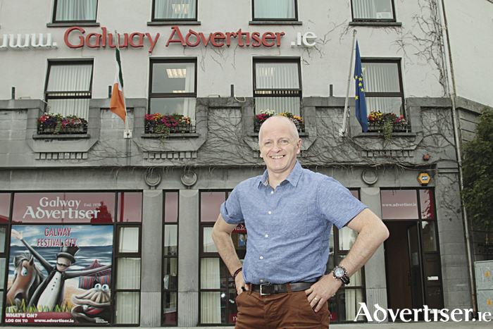 Declan Varley, group editor, Galway Advertiser.   Pic: Mike Shaughnessy.