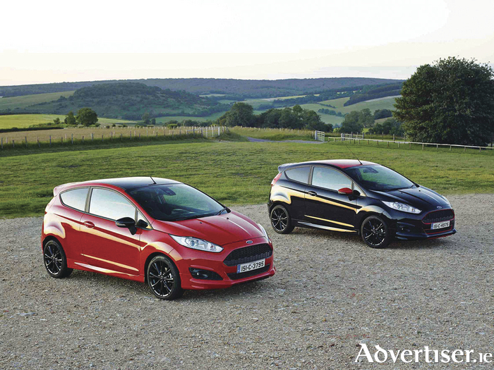 New Ford Fiesta Red/Black Editions