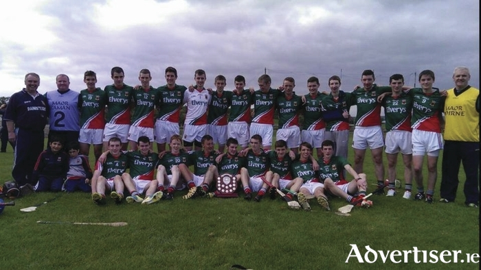 Back on the road: The Mayo minor hurlers will be looking to defend their All Ireland Minor C Hurling title starting tomorrow.