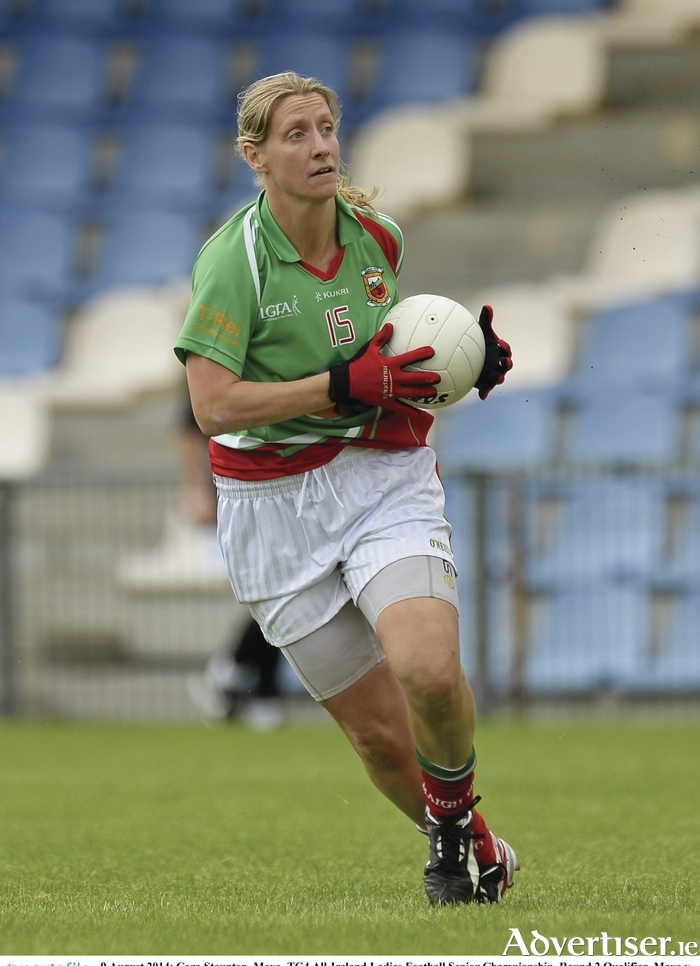 Leading lady: Cora Staunton kicked 1-15 for Mayo in their loss to Galway in the Connacht Final. Photo:Sportsfile