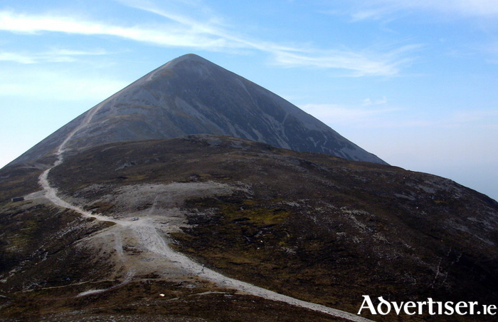 Croagh Patrick, 'dominates an already impressive setting'.
