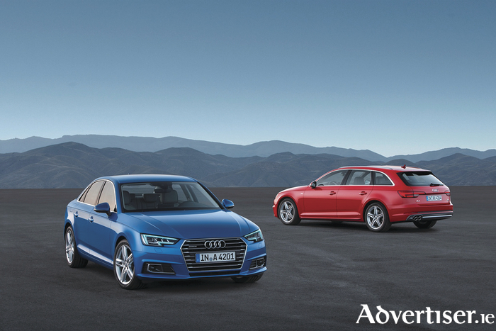 Much anticipated: the new Audi A4 and Avant.