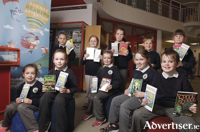 Summer Reading at Mayo County Library. The boys and girls from first and second class in Crimlin National School were on hand in Castlebar Library recently to launch the Summer Reading Adventure. Photo: Alison Laredo.