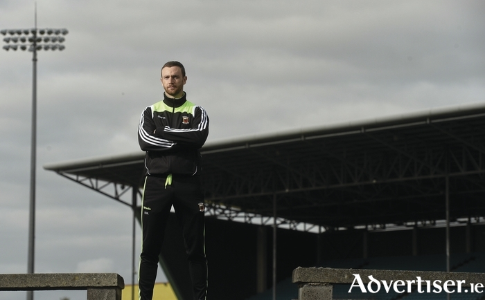 Taking it in: Keith Higgins hopes to be lifting the Nestor Cup on Sunday evening. Photo: Sportsfile.