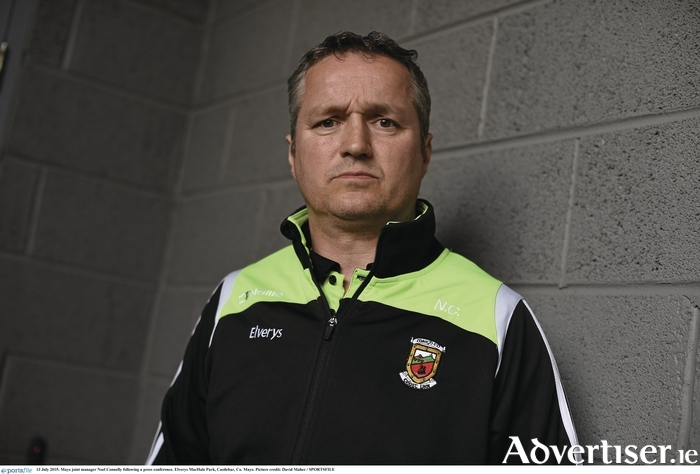 Mayo joint manager Noel Connelly. Photo: David Maher/SPORTSFILE.