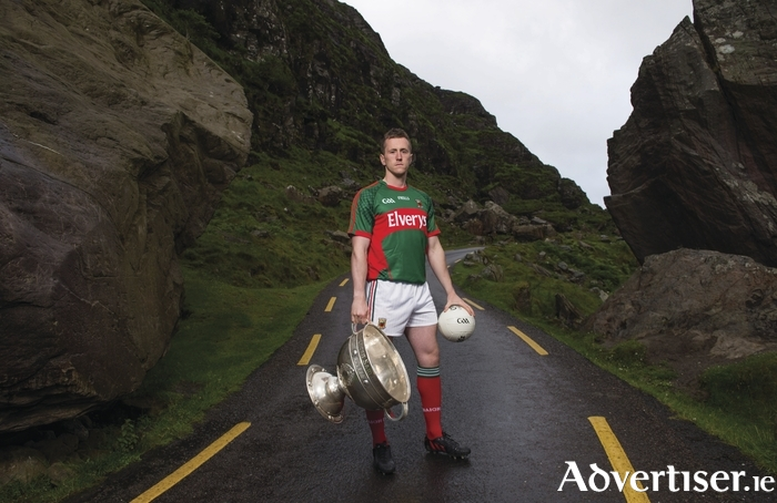 There's a long road to go to bring Sam home. Cillian O'Connor was in Kerry this week at the launch of the All Ireland series. Photo: Sportsfile