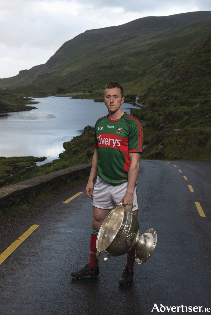 The road to Sam really starts here for Cillian O'Connor and Mayo. Photo: Sportsfile