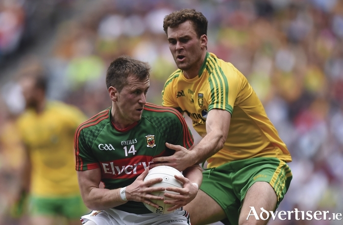 Moving on: Cillian O'Connor knows that Mayo can still improve a lot going into the next game.