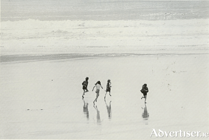 'Days were spent running along the beach, and playing games.'(Photo: Tom Kennedy)