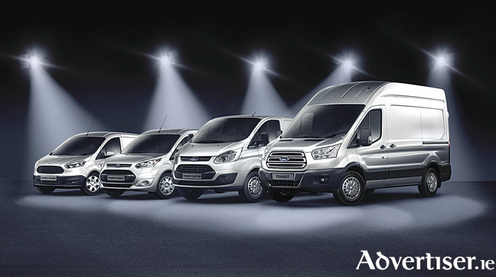 Ford's Transit continues to dominate the van sales market.