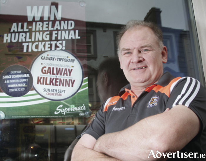 "Former All Ireland winning Galway hurler Pete Finnerty says: ""Galway to win"". Photo:-Mike Shaughnessy"