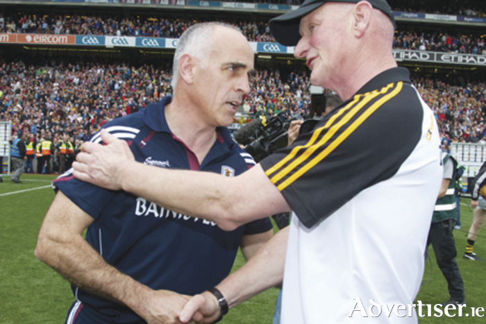 GAA Hurling All-Ireland Senior Hurling Championship Final in Croke Park on Sunday. Anthony Cunningham and Brian Cody .Photo:-Mike Shaughnessy