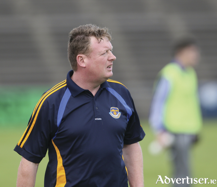 Belmullet manager Nigel Reape is looking for a last four spot this weekend. Photo: Michael Donnelly