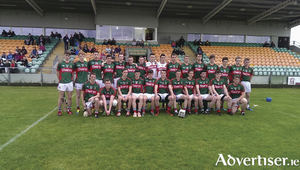 Ready for round two: The Mayo minor hurlers will go for glory again on Saturday when they take on Tyrone in the All Ireland Minor Hurling C Final replay. Photo: Mayo GAA