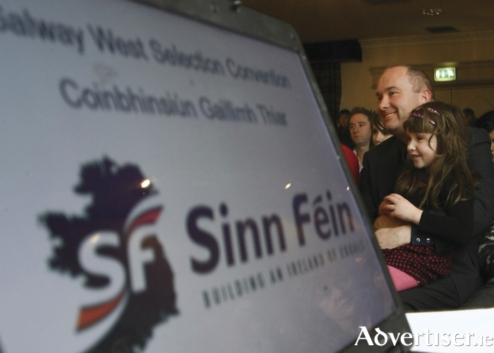 Trevor Ó Clochartaigh at the Sinn Féin selection convention in 2011. Will the next General Election see him win a seat in the Dáil? Photo:- Mike Shaughnessy