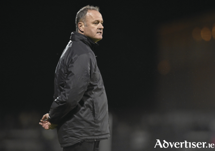 Athlone Town manager Alan Mathews will be hoping for a positive result in his side's last home game of the season against Finn Harps. Picture credit: Matt Browne/SPORTSFILE