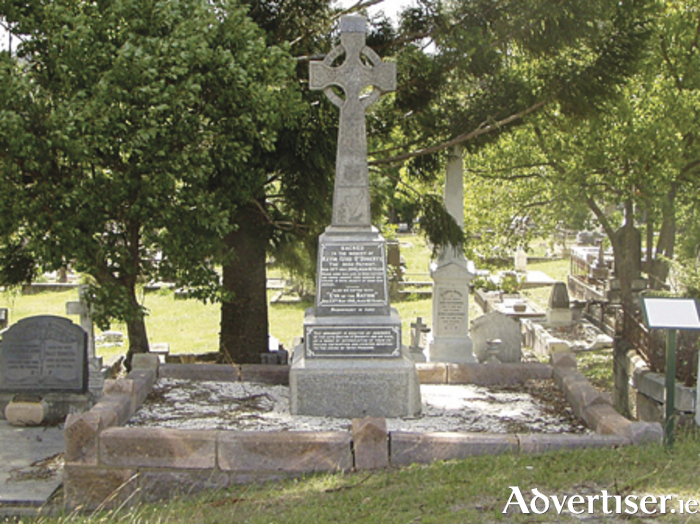 The grave of Mary and Kevin O'Doherty at Brisbane's Toowong cemetry