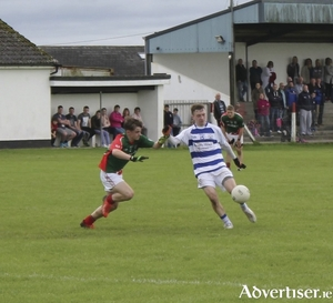 Finding his range: Tommy Reilly was in fine form for Breaffy in their win over Ballintubber.