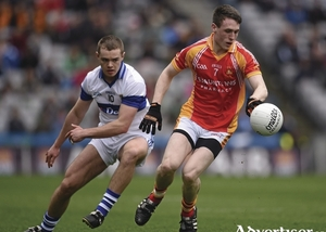 Back in the final: Patrick Durcan was a key man for Castlebar Mitchels in their semi-final win over Knockmore. Photo: Sportsfile