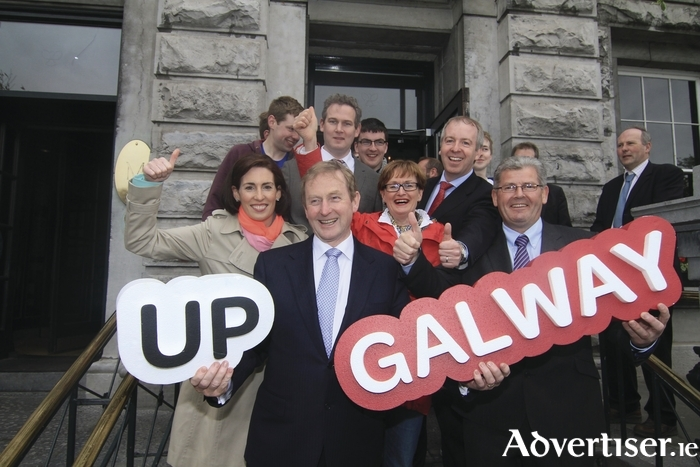 Will Burdget 2016 produce enough of a feel good factor in Galway to see Fine Gael retain it's four seats in the county? Photo:- Mike Shaughnessy